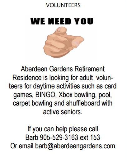Aberdeen Gardens volunteers