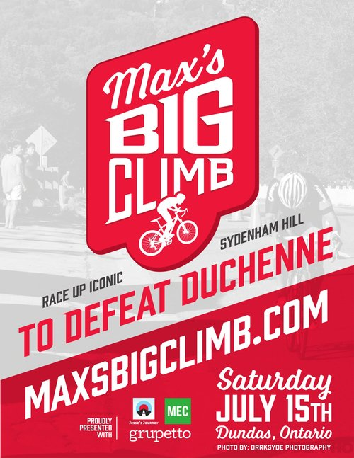 Max's big climb